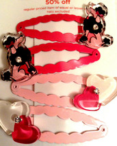 Gymboree Girl Tres Chic Line Hair Snaps Poodles Hearts Barrette/Clip NWT VHTF - $15.95