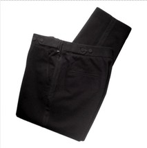 3.1 PHILLIP LIM Black Casual Tuxedo Pants Cropp... - $33.66