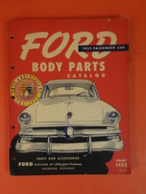 FORD Body Parts Catalogue 1953 Passenger Cars January 1953 N°7422 - $50.00