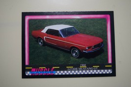 MUSCLE CARDS SERIES 1 KING OF THE HILL #42 1968 J CODE MUSTANG CONVERTIBLE - $3.72