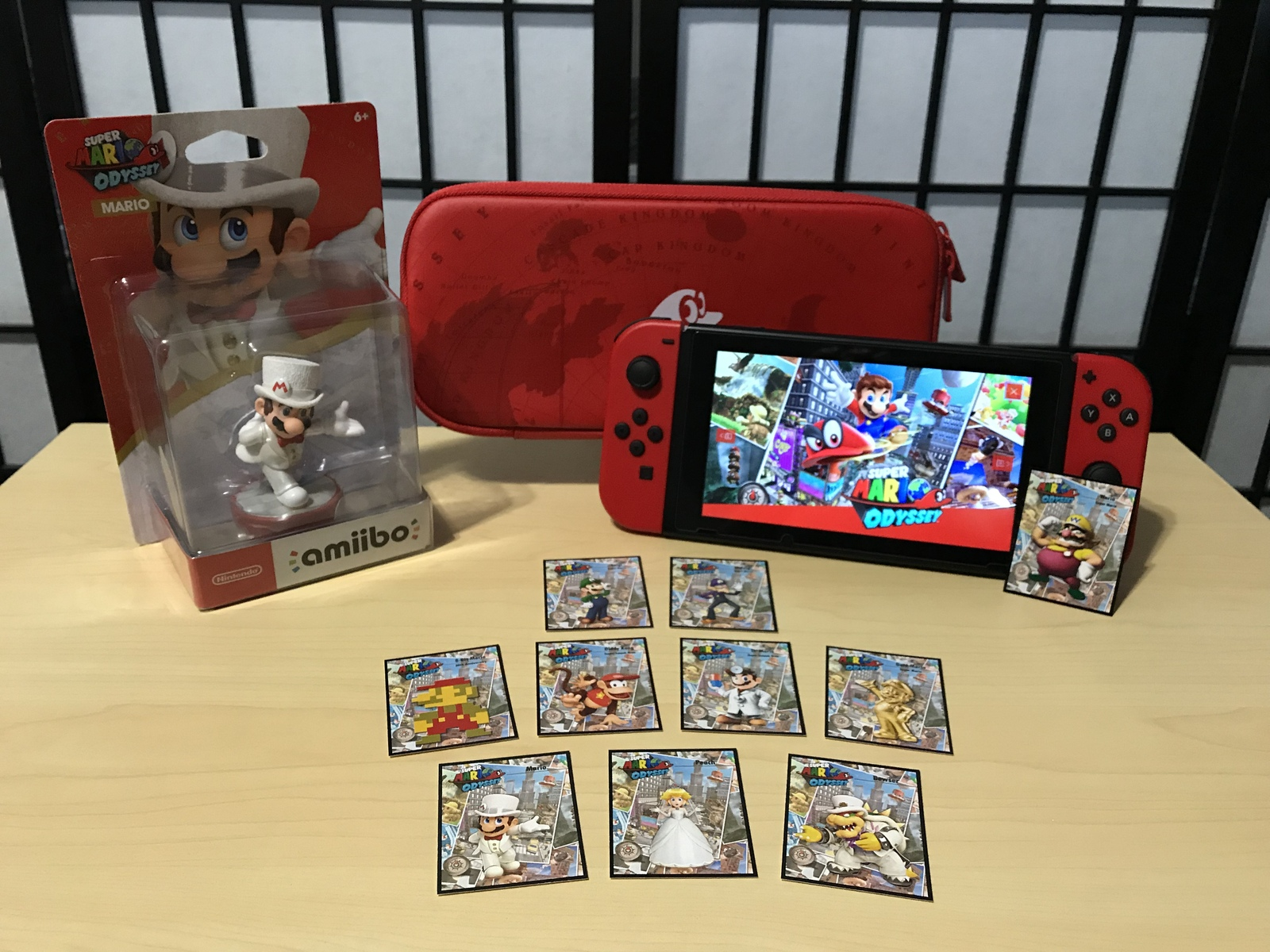 picture regarding Printable Amiibo Cards titled Mini Tremendous Mario Odyssey Amiibo Playing cards Total and 50 equivalent products
