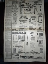 Vintage The Grand Rapids Press Ford Left In Dark & Primary Aug 7 1974 image 3