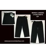Marsh Landing Lycra Black Stretch Pants Sz 12P - $14.99