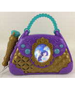 Disney Princess Aladdin Sing Along Boombox With Microphone Jasmine Music... - $24.70