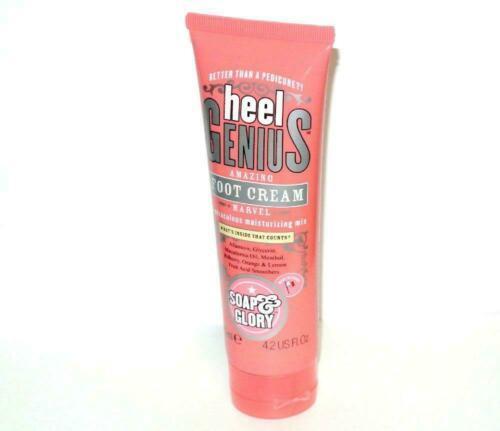 Soap & Glory Heel Genius Foot Cream FULL Size 125ml 4.2 Fl. Oz. sealed