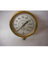 Brass US Air & Water Gauges Reliable Automatic Sprinkler Co Mount Vernon... - $128.65