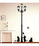 Popular Aciet Lamp Cats Birds Wall sticker Wall Mural s Wallpaper - £8.66 GBP+