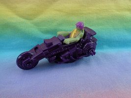McDonald's 2012 Ninja Turtles Donatello Pullback Action Cycle Happy Meal Toy  - $2.23