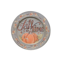 Primitive Wood Plate - 33380 Fall Time - $24.95