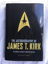 The Autobiography of James T. Kirk -Hardcover 2015 - $19.75