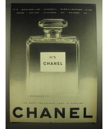 1959 Chanel No. 5 Perfume Ad - The most treasured name in perfume - $14.99
