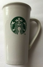 Starbucks Grande Ceramic Tall Cup 16 oz Coffee Mug White with Mermaid Lo... - $24.45