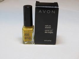 Avon Art Ongles Émaillé Jaune Brillance 6 ML 0.20 Fl oz Vernis à Mani Pedi - $10.68