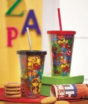 Marvel Superheroes  Double Wall Tumblers Set of 2 Collectible New! - $15.00