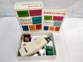 Vintage Singer Professional Buttonholer; Complete; Item No V102878 - $20.76