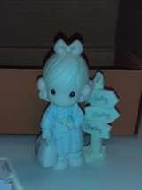 Precious Moments C0113 Loving, caring and sharing along the way 1993 - $19.79