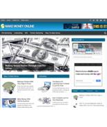 Make Money Online PLR Niche Blog Wordpress Ready Made Website - $5.99