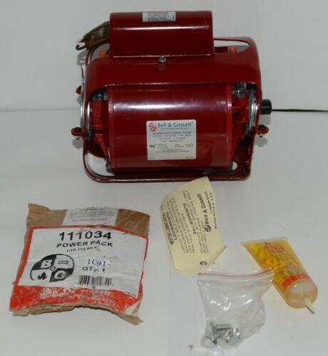 Bell Gossett 111034 Circular Pump Motor 1/12 Horse Power