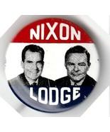 1960s Nixon/Lodge Campaign Pin - £10.90 GBP