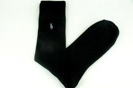 Polo Ralph Lauren Men's Solid Black Dress Socks  - Brand New - $13.49