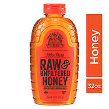 Nature Nate's 100% Pure Raw & Unfiltered Honey; 32-oz. Squeeze Bottle; C... - $32.03