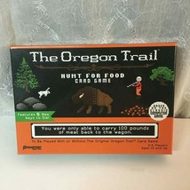 The Oregon Trail Hunt for Food Card Game - 100% Complete - 12+ - MINT Condition - $12.75