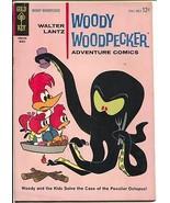 Woody Woodpecker #79 1964-Gold Key-octopus cover-Adventure Comics-FN - $35.31