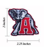 "Alabama Crimson Tide Logo Size 2.25"" Embroidered Iron On Patch. - $1.15"