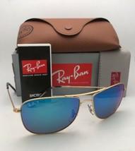Polarizzate Ray-Ban Occhiali da Sole RB 3543 112/A1 59-16 Oro Aviatore+ - $209.54