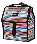 PackIt Freezable Lunch Bag with Zip Closure, Blanket Stripe - $17.64