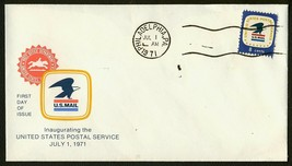 USPS Inauguration July 1, 1971-Philadelphia PA **ANY 4=FREE SHIPPING** - $1.00