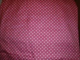 2 Panels Pottery Barn Kids Polkadot Hot Pink Black Out Curtains - $65.44