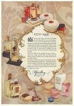 YARDLEY Perfumes AD Beauty Products 1937 Art Deco Illustration Bottle Pa... - $18.99