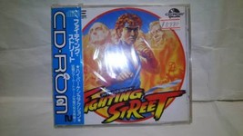 PC Engine CD-ROM Fighting Street TV game  NEC Toy New Japan F80 - $576.00
