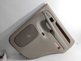 03- 06 Cadillac Escalade Left Rear Door Panel Trim Shale Driver Side - $116.99