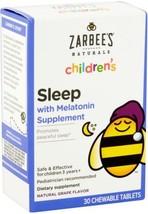 Zarbees Naturals Childrens Sleep With Melatonin Supplement - 30 CT - $23.71