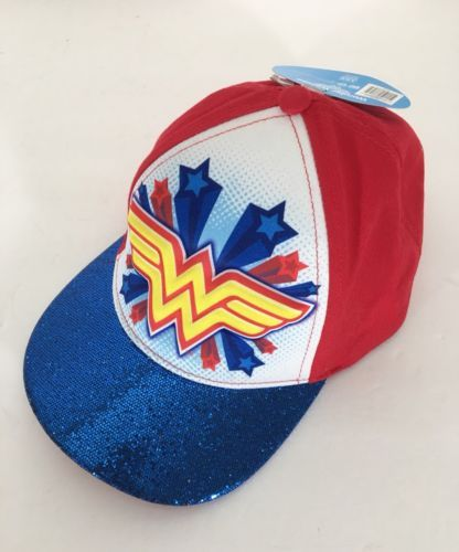 e08bc934284 Wonder Woman 3d Pop Cap Hat NWT NEW Red and 18 similar items