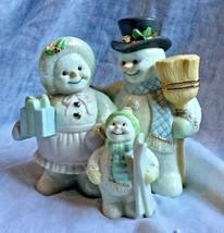 The Lenox Gold Club Snow Family Snowmen Figurine with Box - $12.99