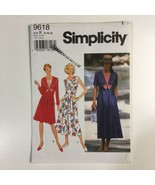 Simplicity 9618 Sailor Dress Pleated Skirt Wide Collar 8-12 Uncut Patter... - $5.90