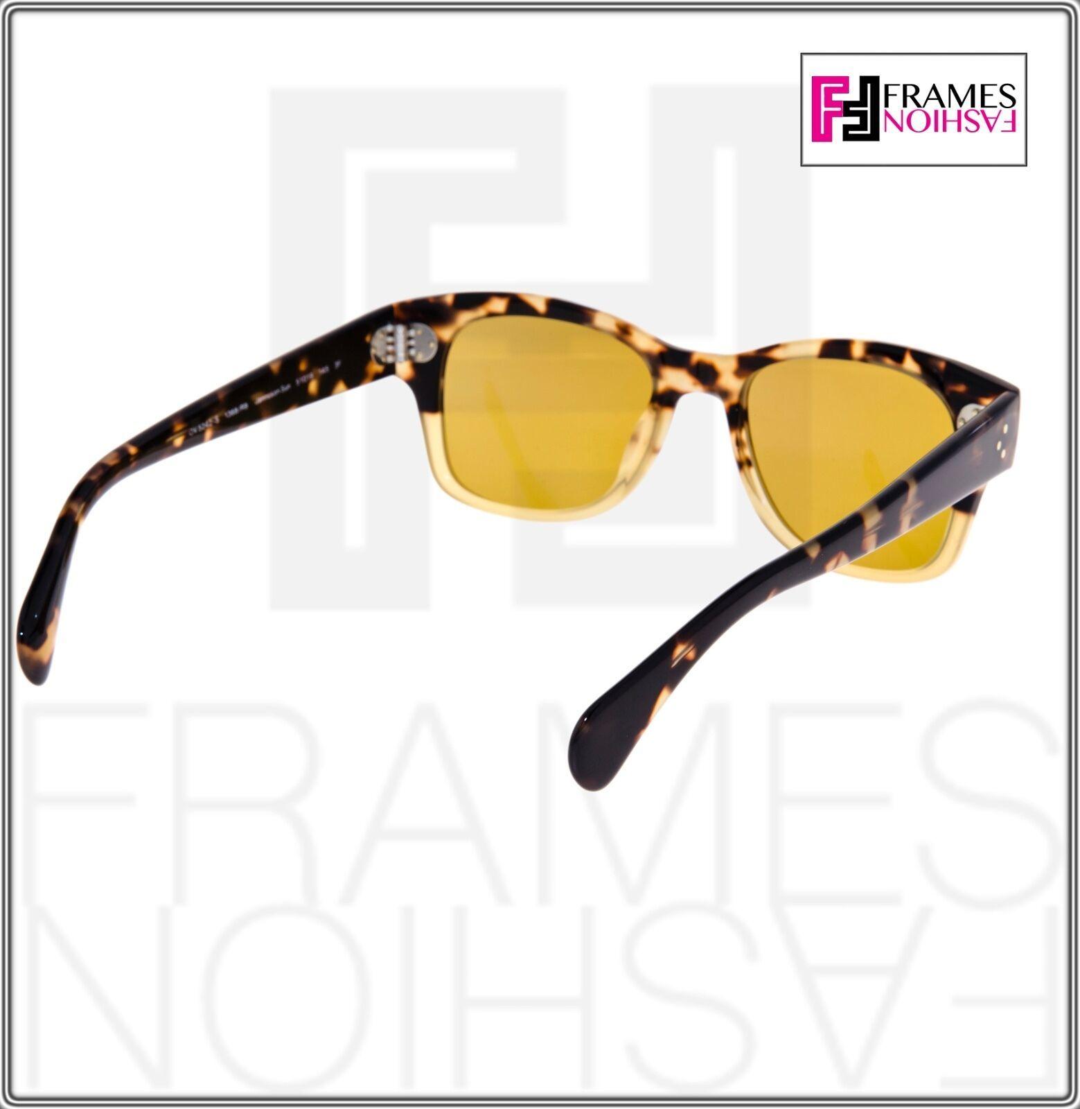 OLIVER PEOPLES Jannsson Sun OV5242S Honey Brown VFX Photochromic Sunglasses 5242 image 4