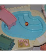 Fisher Price Loving Family Dream Dollhouse Pool Barbecue Set 1995 - $60.00