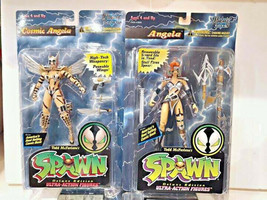 McFarlane Toys Spawn Angela Action Figure Lot Villians 1990s comic book ... - $0.98