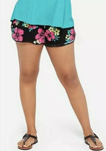 Justice Girl/'s Size 18-20 Tropical Print Lace Up Shorts New with Tags