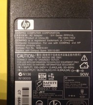 LOT OF 5 Genuine HP Compaq AC Power Adapter 324816-001 325112-001 PA-190... - $46.74