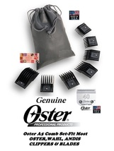 Oster A5/A6 Guide Attachment 7pc Comb Set& 40 Blade*Fit Most Wahl,Andis Clipper - $44.99
