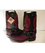 Mens Harley Davidson boots Slayton D93141 leather black oil resisting si... - $168.25