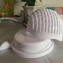 60 Second Salad Cutter Bowl 1 Pcs Kitchen Maker Chopper Easy Quick Veget... - €12,26 EUR