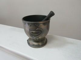 "Mortar and Pestle, Brass , Pharmacy , Rx , Hygeia , Rare , Vintage , 4""X... - $75.00"