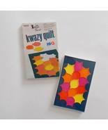 Gabriel Kwazy Quilt Game Vintage Sealed Hi Q Puzzle - $12.86