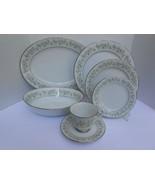 22 P NORITAKE Savannah DINNERWARE PLATE 2031 DINNER SALAD CUP bread plat... - $173.25